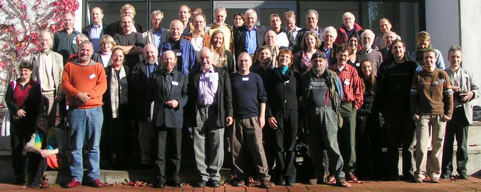 Gruppenbild in Bad Boll (November 2005) vergrößern
